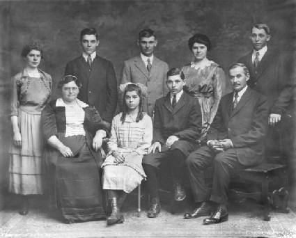The Wiser Family in 1920
